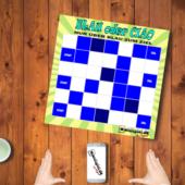 Tischspiel Blau oder Ciao-